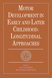 Motor Development in Early and Later Childhood