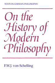 Texts in German Philosophy