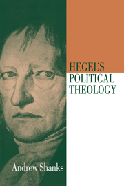 Hegel's Political Theology