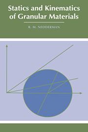 Statics and Kinematics of Granular Materials
