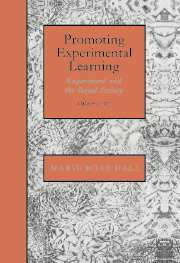 Promoting Experimental Learning