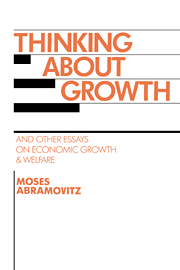 Thinking about Growth