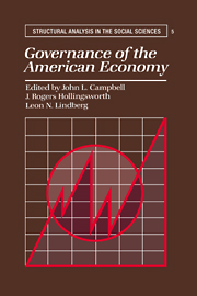 Governance of the American Economy