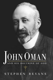 John Oman and his Doctrine of God