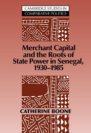 Merchant Capital and the Roots of State Power in Senegal