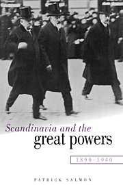 Scandinavia and the Great Powers 1890–1940