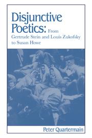 Disjunctive Poetics