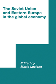 The Soviet Union and Eastern Europe in the Global Economy