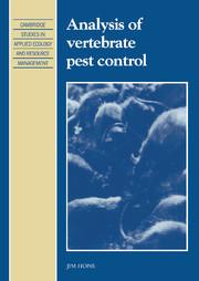 Analysis of Vertebrate Pest Control