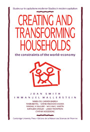 Creating and Transforming Households