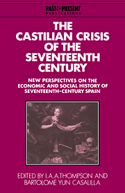 The Castilian Crisis of the Seventeenth Century