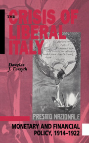 The Crisis of Liberal Italy