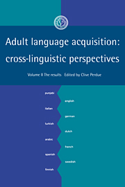 Adult Language Acquisition