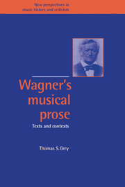 Wagner's Musical Prose