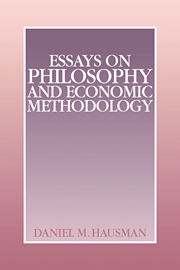 essays philosophy and economic methodology philosophy general  essays on philosophy and economic methodology