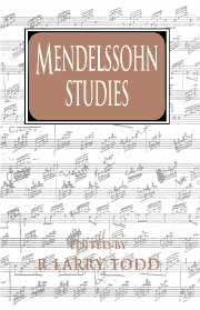Mendelssohn Studies