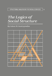 The Logics of Social Structure