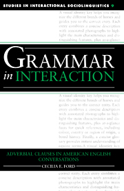 Grammar in Interaction