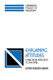 Explaining Attitudes