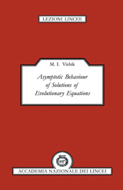 Asymptotic Behaviour of Solutions of Evolutionary Equations
