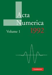 Acta Numerica 1992