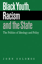 Black Youth, Racism and the State