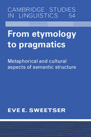 From Etymology to Pragmatics