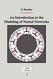 An Introduction to the Modeling of Neural Networks