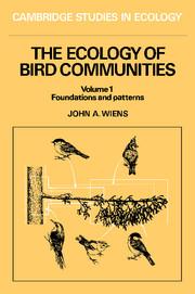The Ecology of Bird Communities