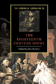 The Cambridge Companion to the Eighteenth-Century Novel