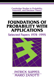 Foundations of Probability with Applications