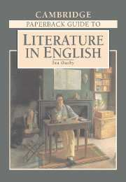 The Cambridge Paperback Guide to Literature in English