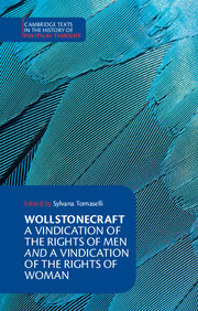 Wollstonecraft: A Vindication of the Rights of Men and a Vindication of the Rights of Woman and Hints