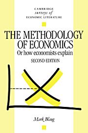 The Methodology of Economics