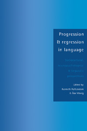 Progression and Regression in Language