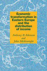 Economic Transformation in Eastern Europe and the Distribution of Income