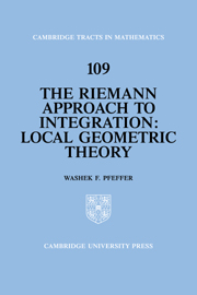 The Riemann Approach to Integration