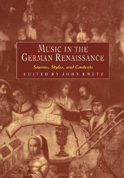 Music in the German Renaissance