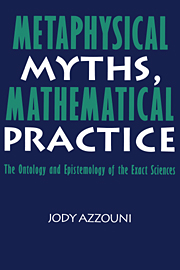 Metaphysical Myths, Mathematical Practice