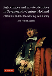 Public Faces and Private Identities in Seventeenth-Century Holland