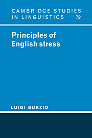 Principles of English Stress