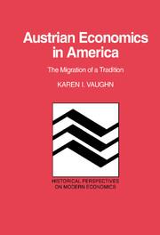 Austrian Economics in America