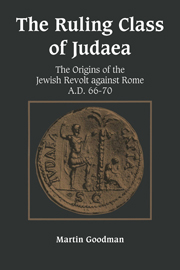 The Ruling Class of Judaea