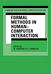 Formal Methods in Human-Computer Interaction