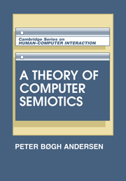 A Theory of Computer Semiotics