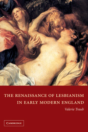 The Renaissance of Lesbianism in Early Modern England