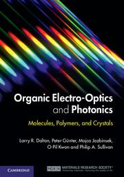 Organic Electro-Optics and Photonics
