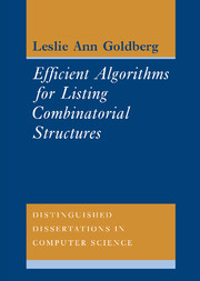 Efficient Algorithms for Listing Combinatorial Structures