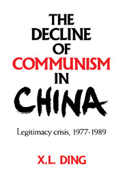 The Decline of Communism in China