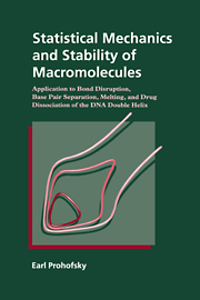 Statistical Mechanics and Stability of Macromolecules